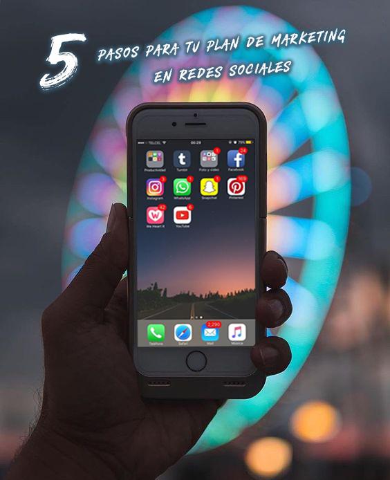Redes Sociales: Los 5 Pasos para tu plan de marketing